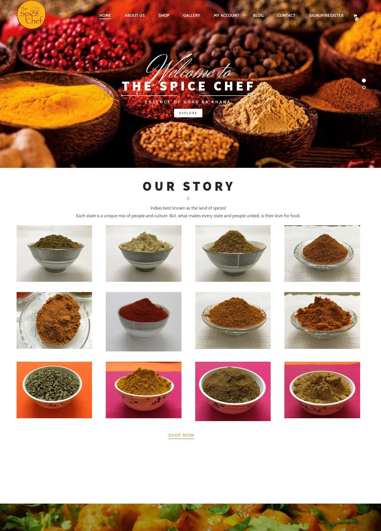 The Spice chef